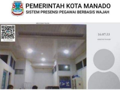 Sistem Presensi Pegawai Berbasis Wajah Segera Diterapkan Pemkot Manado