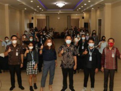 Walikota Tomohon Caroll Senduk Buka Pelatihan Digital Entrepreneurship Academy Tahun 2021