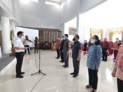 Pengukuhan Pengurus FPK dan FKDM Kota Tomohon