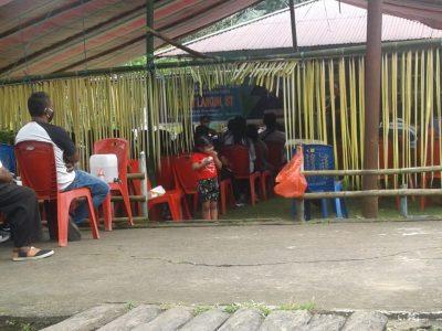 Janur Kuning dan Prokes Covid-19, Warnai Gelaran Reses Waket DPRD Manado di Pulau Woka