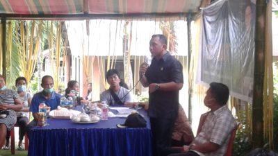 Reses Pertama Waket DPRD Manado Audrey Laikun di Tahun 2021