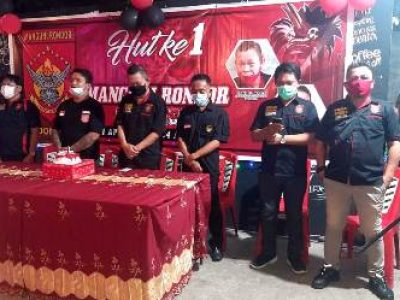 Perayaan HUT-ke1 dan Pelantikan Pengurus Manguni Rondor Indonesia