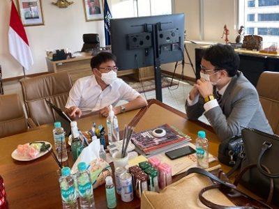 Walikota Manado dan Wamendag RI