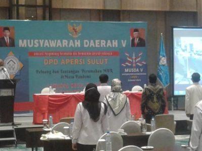 Musda V DPD APERSI Sulut, Soeprapti Mohadjumangin Terpilih Sebagai Ketua Periode 2021-2025