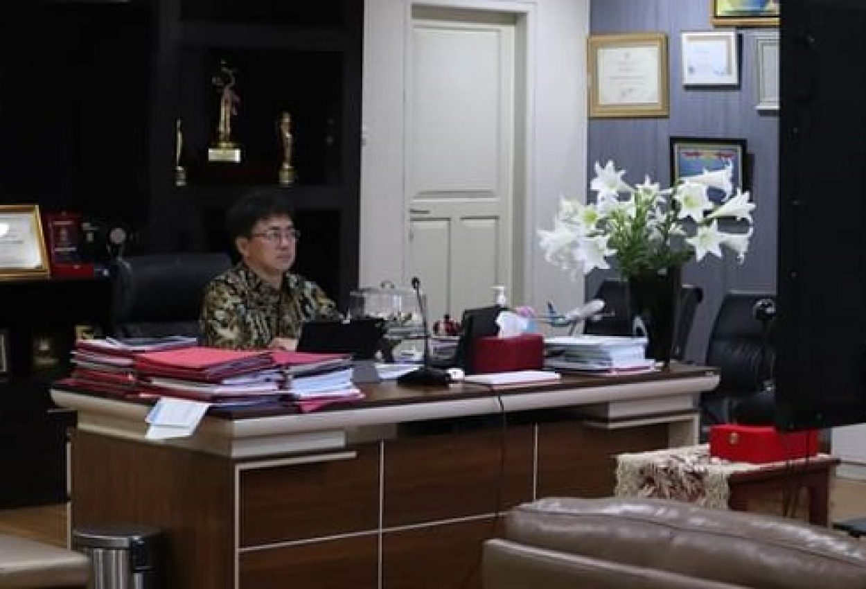 Walikota AA Kembali Ikuti Lanjutan Pembekalan Kepemimpinan Pemerintahan Dalam Negeri