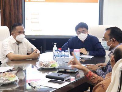 AA-RS Terima Kunjungan Kepala BPKP Sulut