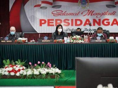 Rapat Paripurna DPRD Sitaro