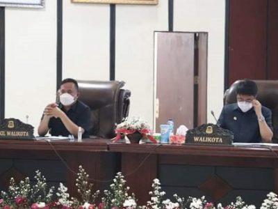 Ketua DPRD Manado Aaltje Dondokambey Pimpin Rapat Paripurna Pembicaraan Tingkat I Ranperda Perubahan APBD T.A 2021